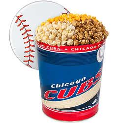 Chicago Cubs 3 Gallon Popcorn Gift Tin
