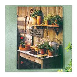 Gardening Potting Bench Canvas