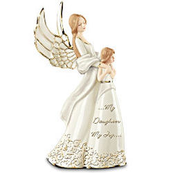 My Daughter My Joy Mother and Daughter Collectible Angel Figurine