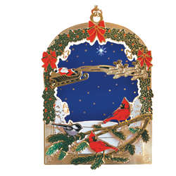 National Audubon Society Bird Christmas Ornament
