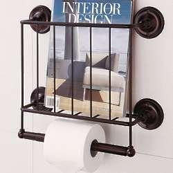 Bathroom Wall Magazine Rack