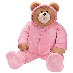 Big Hunka Love Hoodie-Footie Teddy Bear