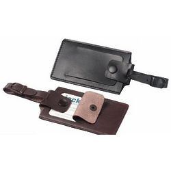 Security Leather Luggage Tags