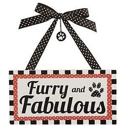 Furry and Fabulous Pet Plaque