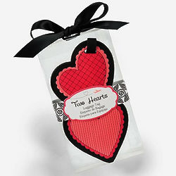 Two Hearts Luggage Tag