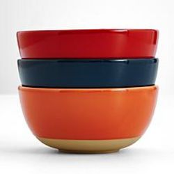Colorful Stoneware Bowl