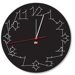 Connect the Dots Clock