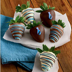Father's Day Chocolate Covered Strawberries Gift Box