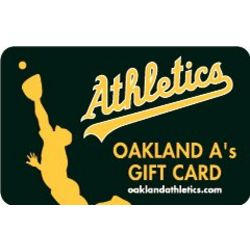 Oakland Athletics Gift Card