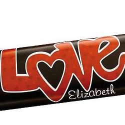 Personalized Love Candy Bar Wrappers