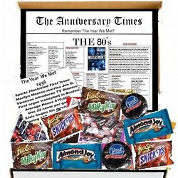 The Anniversary Times The '80s Chocolate Box