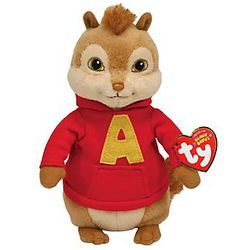 Alvin The Chipmunk Beanie Baby