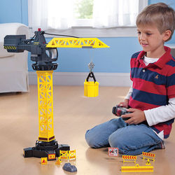 Children's Remote Controlled Crane Tower Toy