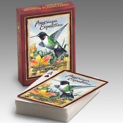 American Expedition Hummingbird Wildlife Playing Cards