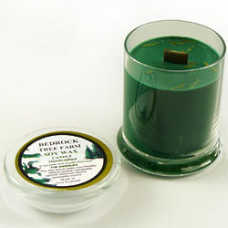 Green Fir Needle Soy Candle