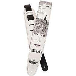 "Vinyl 2.5"" Beatles Revolver Guitar Strap"