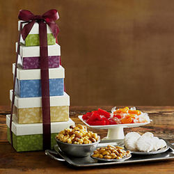 New Springtime Gift Tower of Treats