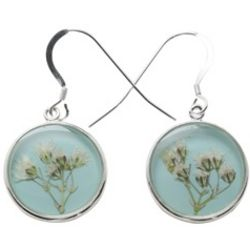 Handcrafted Baby's Breath Earrings