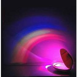 Clam Shell Shaped Rainbow Projector Lamp