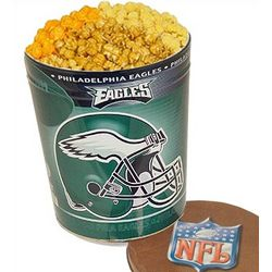 Philadelphia Eagles 3 Way Gourmet Popcorn Tin