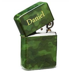 Personalized Camouflage Lighter