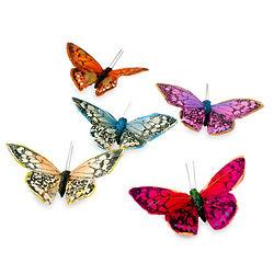 Handmade Rainbow Magnetic Butterflies