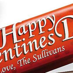 Personalized Valentine's Day Candy Bar Wrappers