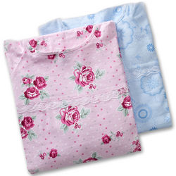 Women's 2 pack Flannel Hospital Gowns