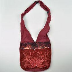 In Bloom Beaded Shoulder Bag
