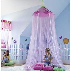 Secret Garden Gauze Hideaway Canopy for Girl's Room