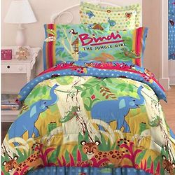 Jungle Treehouse Twin Comforter