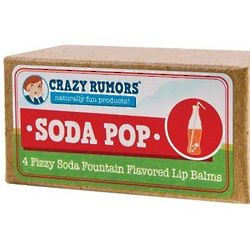 Crazy Rumors Soda Pop Lip Balms