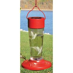 Solar Color-Changing Hummingbird Feeder