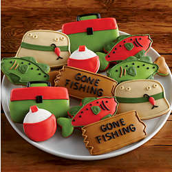 Fishing Trip Cookie Gift Box