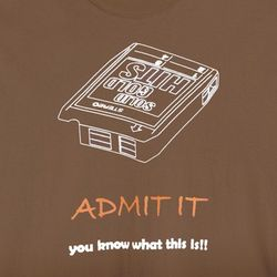 Admit It You Know What This Is 8-Track Shirt