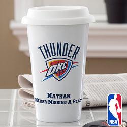 Personalized NBA Basketball Travel Tumbler