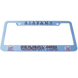 College Logo License Plate Frame