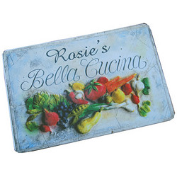 Personalized Bella Cucina Floor Mat