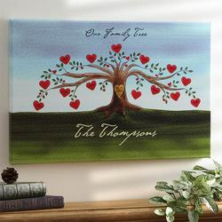 Our Family Tree Canvas Art