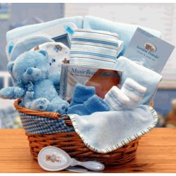 Simply Basics New Baby Blue Hamper