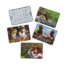 2013 Friendship Calendar Wallet Cards