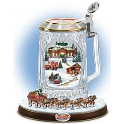 Budweiser Holiday Cheers Stein