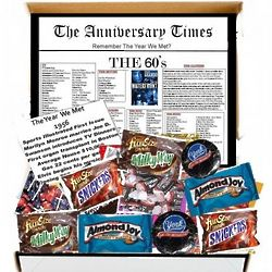The Anniversary Times The '60s Chocolate Box