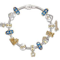 I Love My Yorkie Charm Bracelet