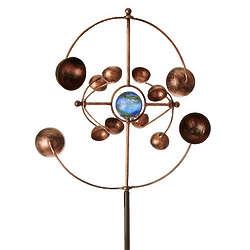 Kinetic Spinner Garden Stake