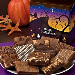 Halloween Dozen Brownies Gift Box