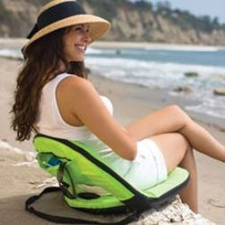 Deluxe Portable Reclining Seat