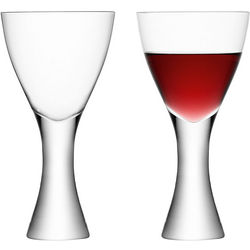 Elina Blown Glass Wine Goblets