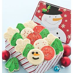 Sweet Holiday Cheer Buttercream Cookie Gift Tin