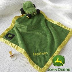 Personalized John Deere Baby Blanket